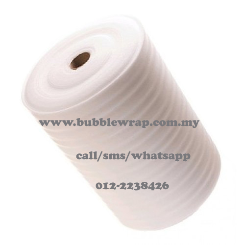 Plain PE Foam x 3 rolls 1.0mm x 1m x 300m