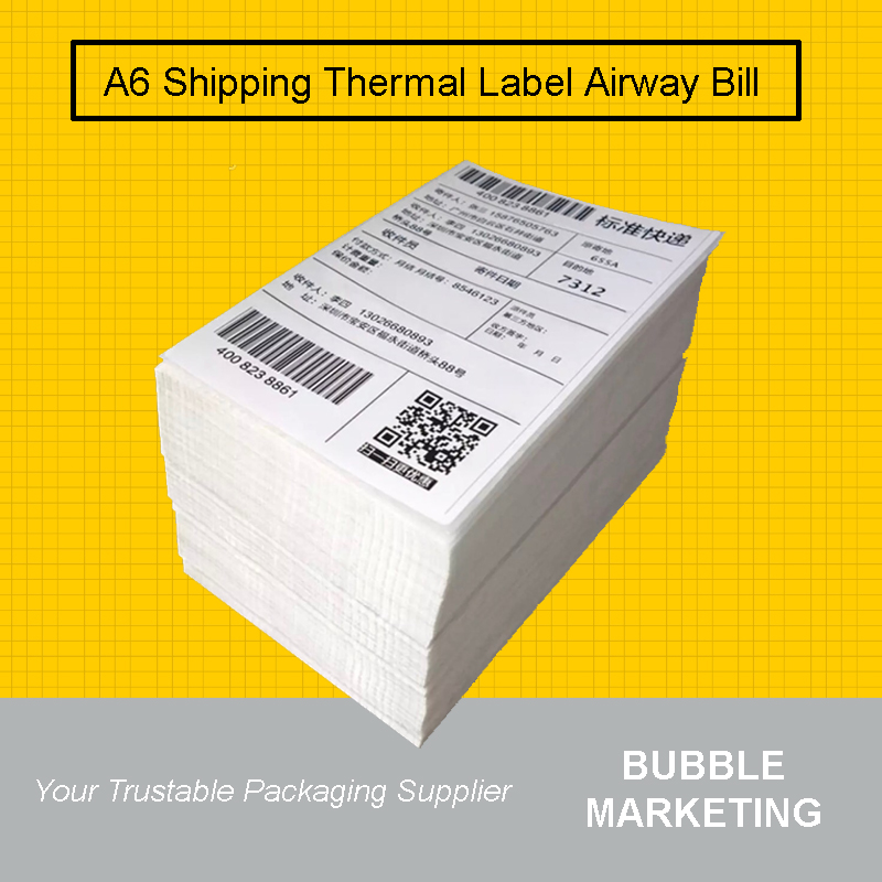 A6 Thermal Paper 500pcs 100x150mm Thermal Label Paper Shipping S