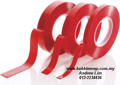 Double Sided Acrylic Foam Tape 10mm X 10yard Bubble Wrap