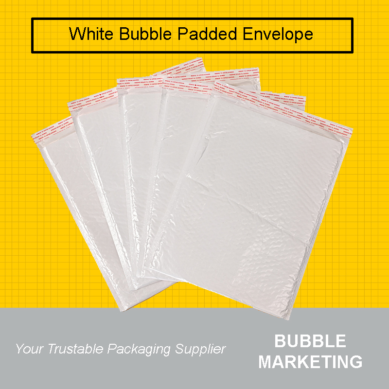 White Bubble Mailer Envelope White Bubble Wrap Mailer Padded