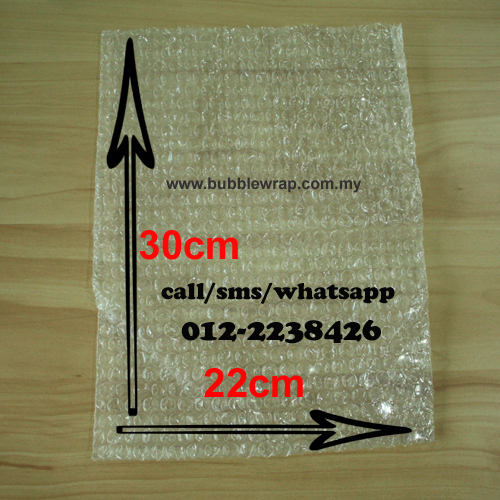 Bubble Wrap Bag (220mm x 300mm) A4 Size 100pcs