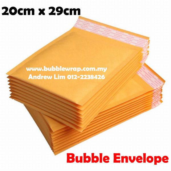 10pcs Bubble Wrap Envelope Mailer 2029