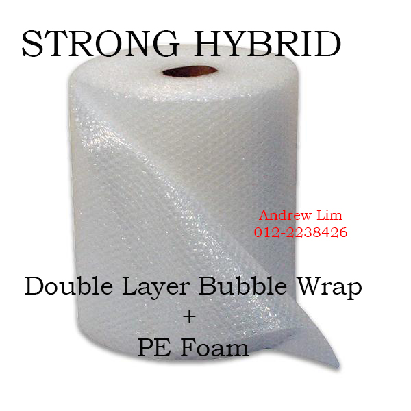 Bubble Wrap Double Layer Hybrid Lami PE Foam