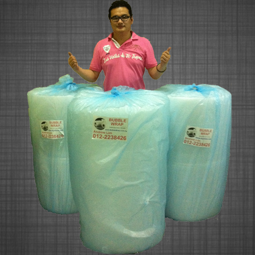 Promotion : Bubble Wrap Single Layer 3 roll 1 meter x 100 meter
