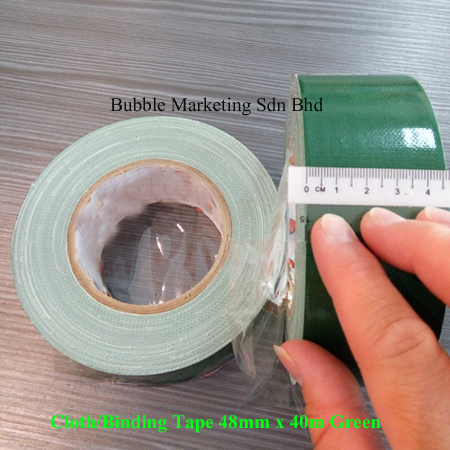 Cloth Tape 48mm x 40m Green