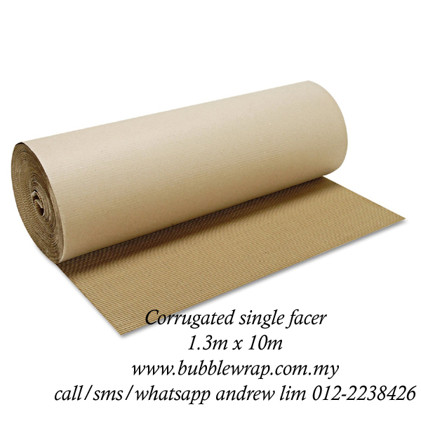 Corrugated Paper Roll B-Flute 1.3m x 10m Kraft Paper Packaging