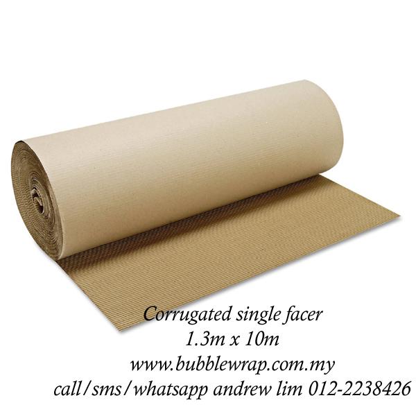 Corrugated Paper Roll B Flute 1 3m X 10m Kraft Paper