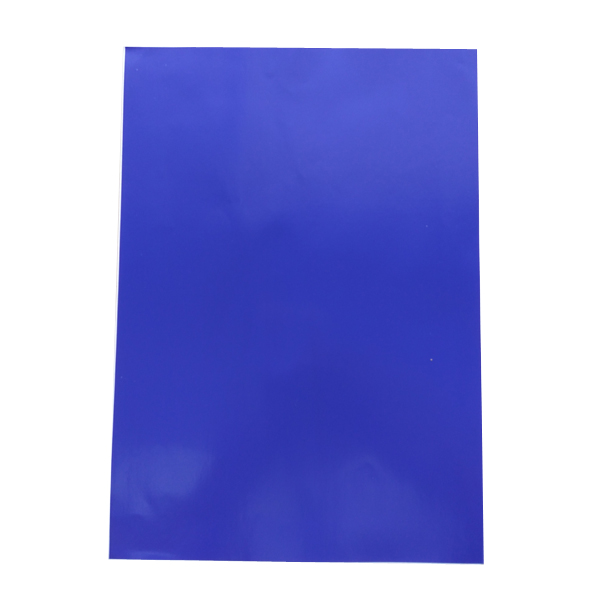 Dark Blue PVC Sticker A4 100's Waterproof/Tearproof