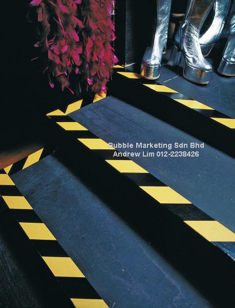 Floor Tape 48mm X 30m Yellow Black Zebra Tape Bubble Wrap