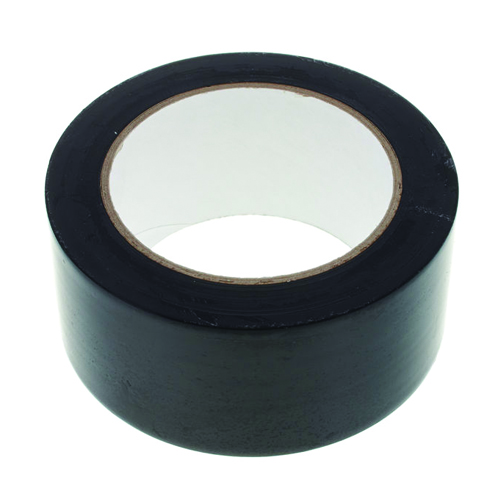 Floor Tape 48mm x 30m Black Zebra Tape
