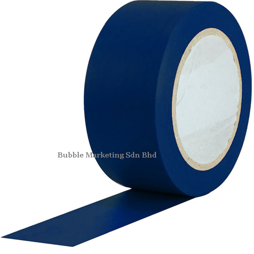 Floor Tape 48mm x 30m Blue Zebra Tape