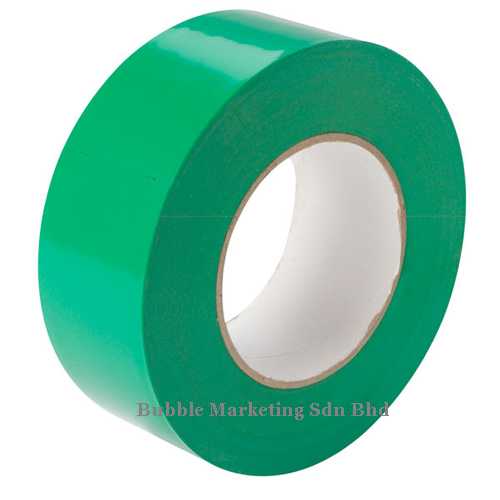 Floor Tape 48mm x 30m Green Zebra Tape