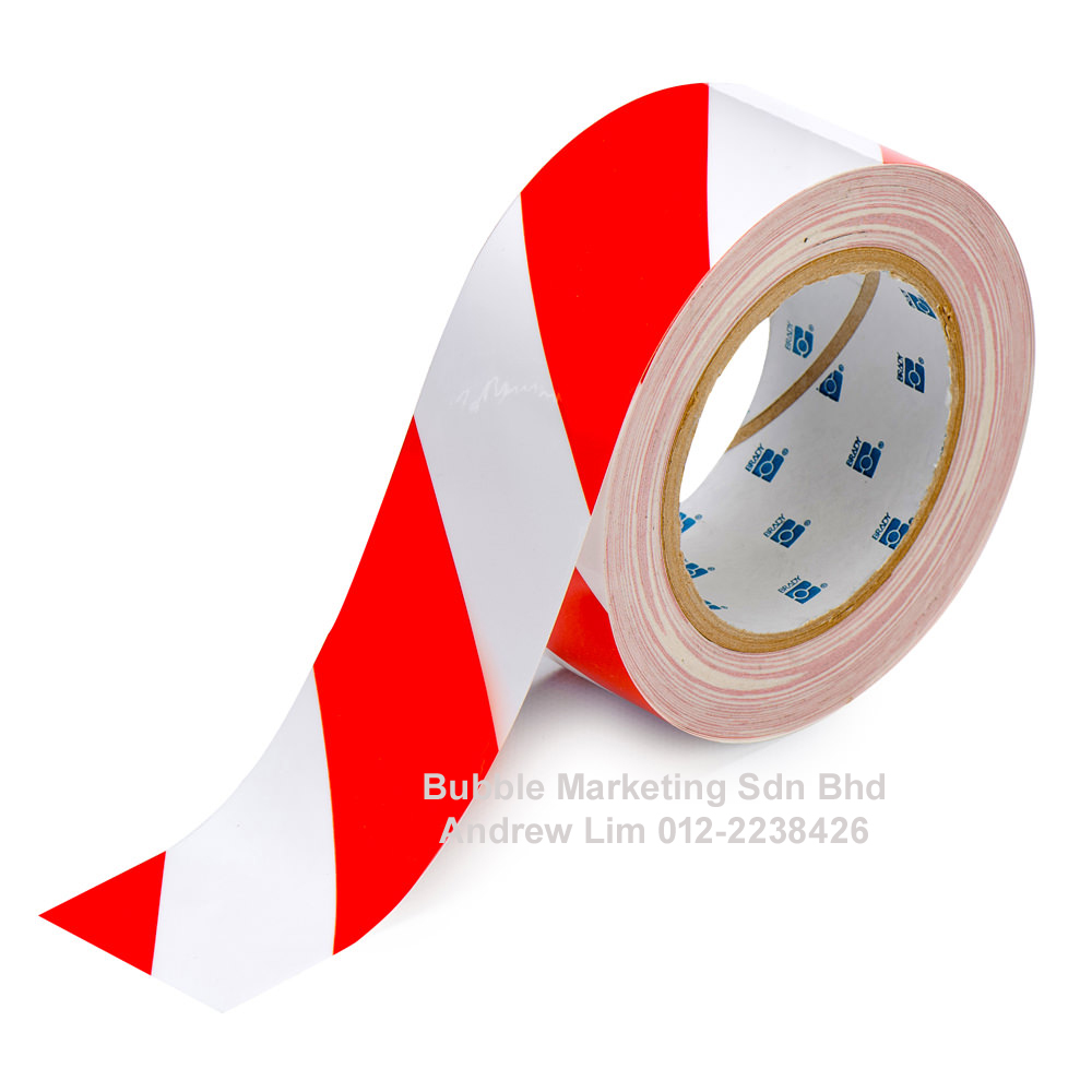 Floor Tape Red White 3