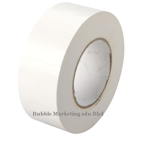 Floor Tape 48mm x 30m White Zebra Tape
