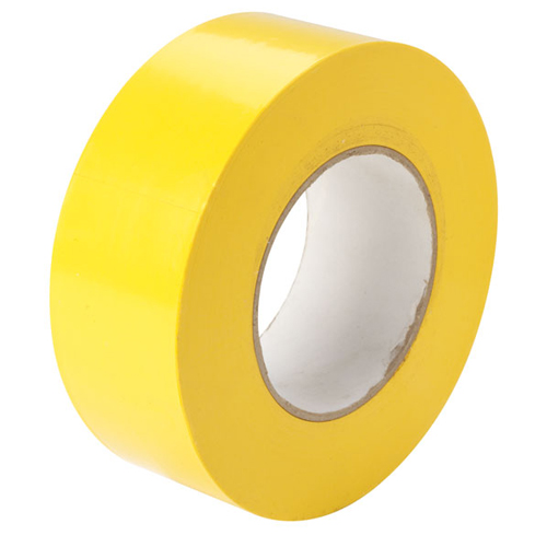 Floor Tape 48mm x 30m Yellow Zebra Tape