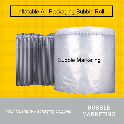 Inflatable Air Bubble Packaging Air Column 100m