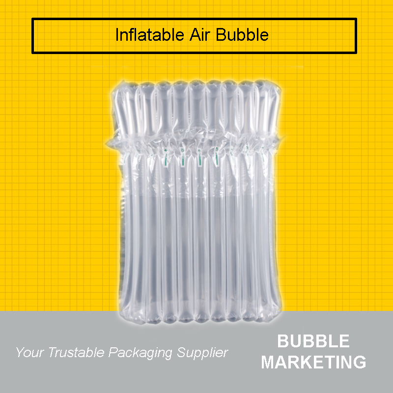 Inflatable Air Packaging Protective Bubble Bag Column Cushion Be