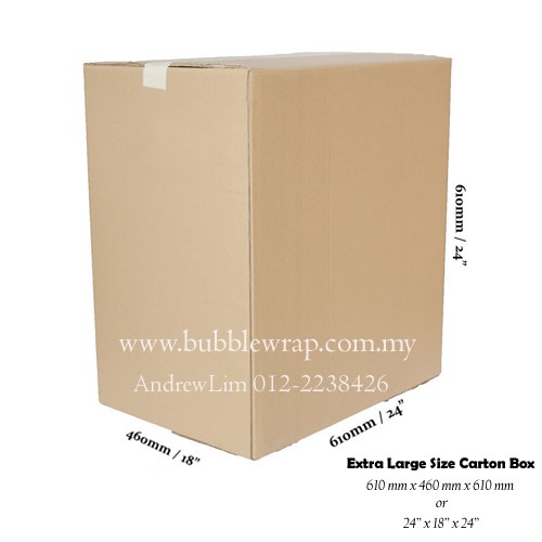 Jumbo Size Carton Box Double Wall 10pcs