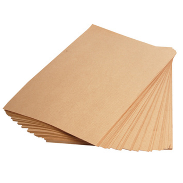 200pcs Brown Kraft Paper 150gsm A4 for Printing and Craft