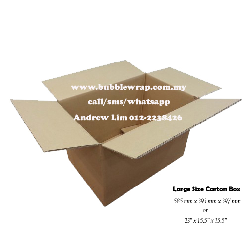 Large Size Carton Box Double Wall 10pcs