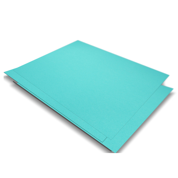 Light Blue PVC Sticker A4 100's Waterproof/Tearproof