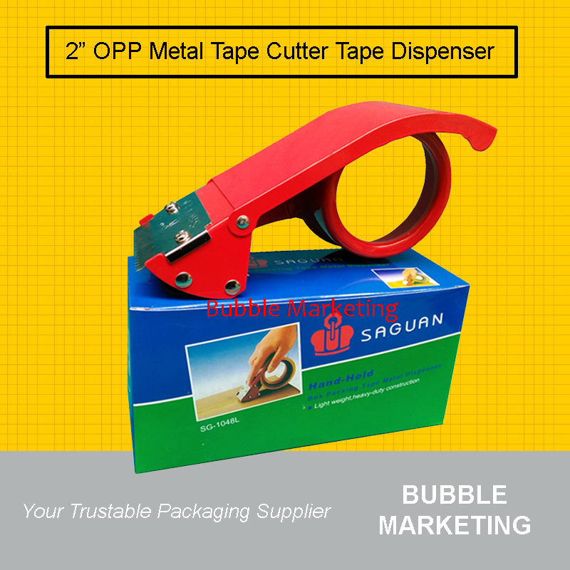 "Metal OPP Tape Dispenser for 2"" OPP Tape Tape Cutter"