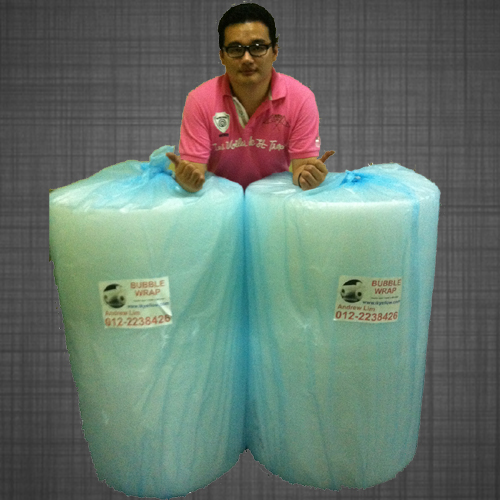 Promotion : Bubble Wrap Single Layer 2 rolls 1 meter x 100 meter