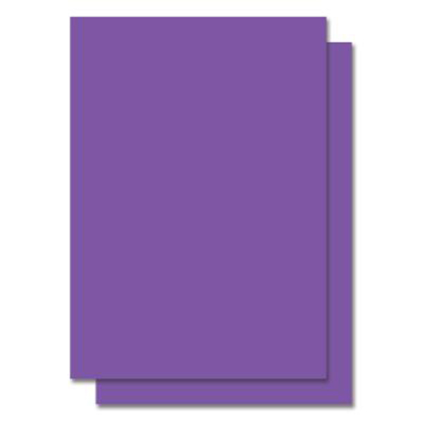 Purple PVC Sticker A4 100's Waterproof/Tearproof