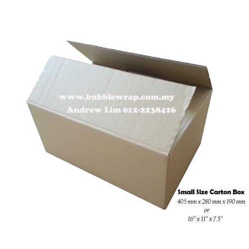 Small Size Carton Box Single Wall 10pcs
