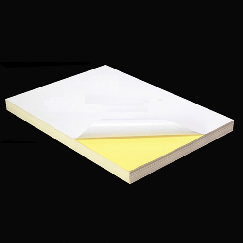 200pcs A4 Sticker Paper (Glossy/Mirrorkote) Self-Adhesive Print