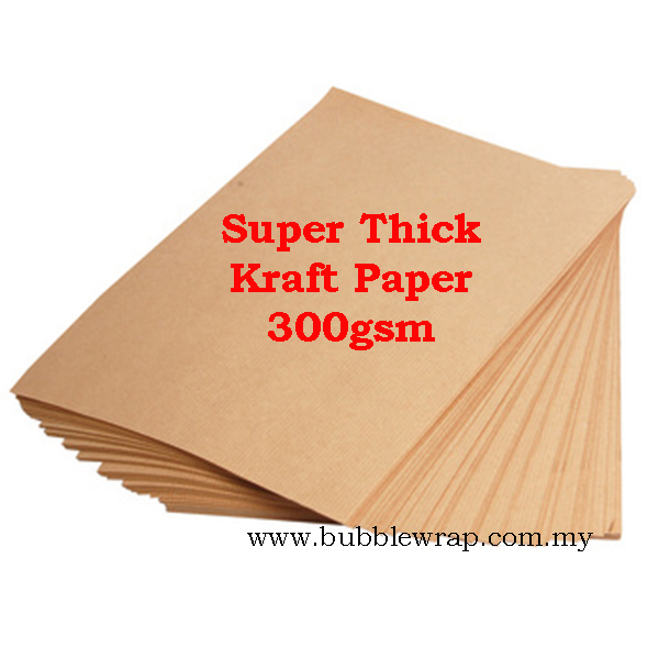 1000pcs Super Thick Kraft Paper 300gsm A4 Printing and Craft