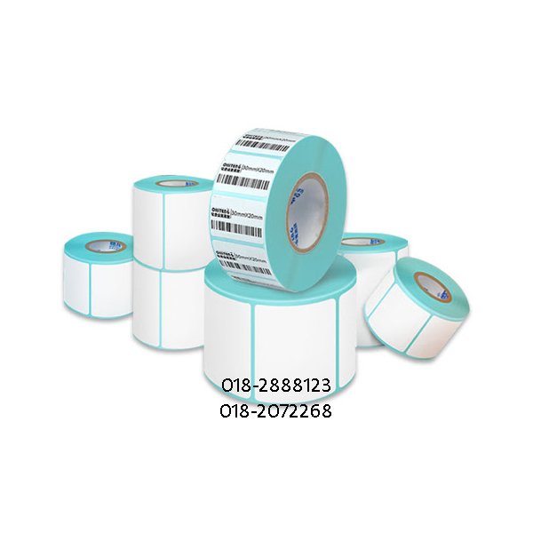 35*25mm Thermal Label Sticker Barcode Label Sticker 800pcs