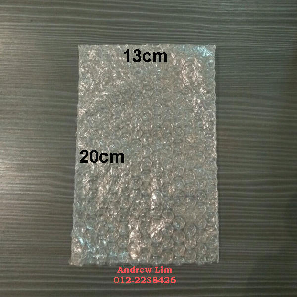 Bubble Wrap Bottle Bag (130mm x 200mm) 500pcs