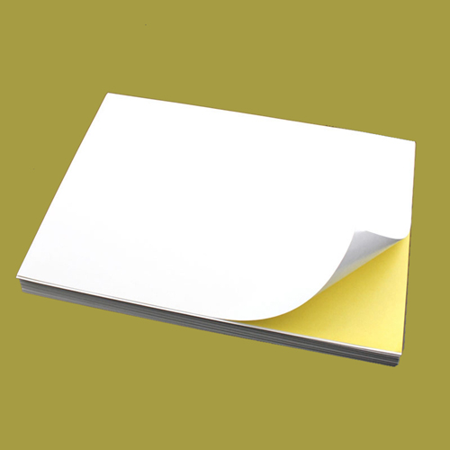 100pcs A4 Sticker Paper (Normal/Matt) Self-Adhesive Print