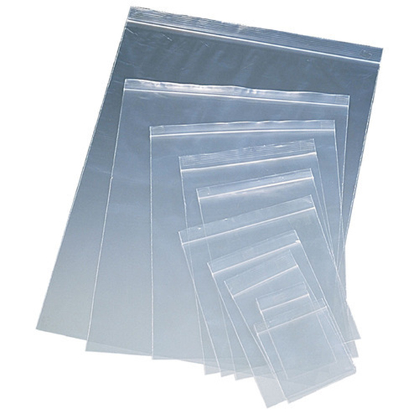 Zip Lock Bag Resealable Plastic Bags 100pcs